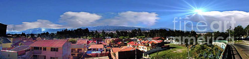 Cuenca, Ecuador - Panorama III by Al Bourassa