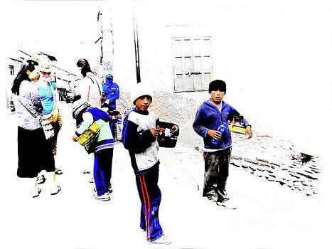 Cuenca Kids 1095 by Al Bourassa