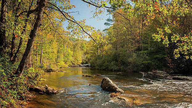 Cullasaja River NC by Rob Hemphill