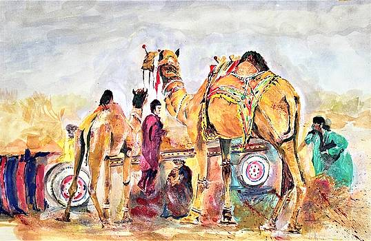 Culture in desert. by Khalid Saeed