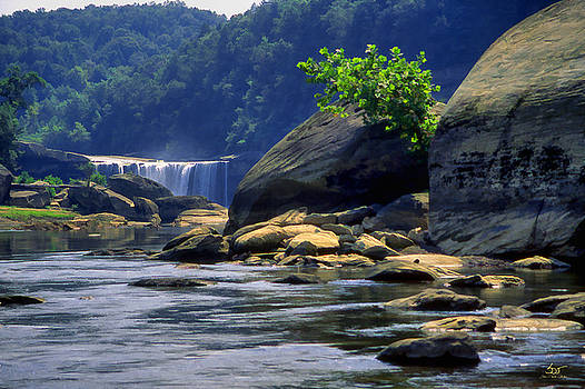 Sam Davis Johnson - Cumberland Below the Falls