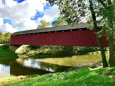 Cumberland Covered Bridge by Russell Keating