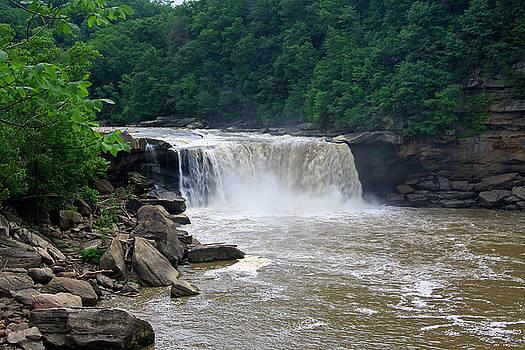 Jill Lang - Cumberland Falls in Kentucky