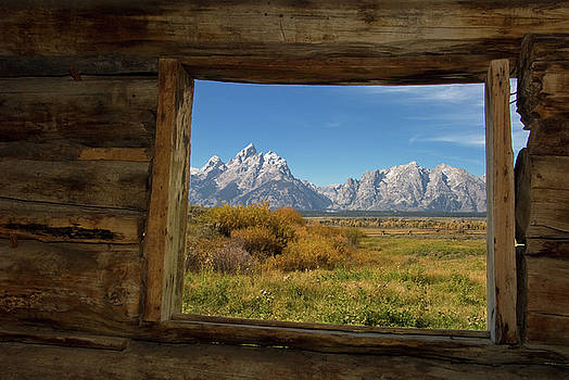 Tibor Vari - Cunningham Ranch View in Grand Teton NP