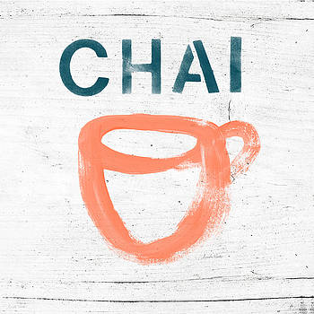 Cup of Chai- Art by Linda Woods by Linda Woods