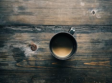 Cup of coffee by Tilen Hrovatic