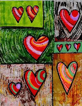 Cupboard Of Hearts by Brenda Adams