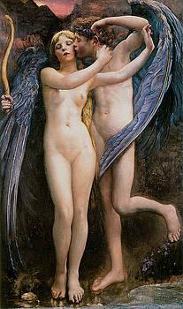 Annie Swynnerton - Cupid and Psyche
