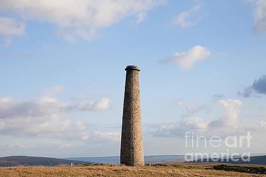 Cupola Smelt Mill Chimney by Gavin Dronfield