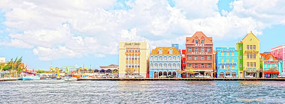 Curacao awash by Allen Carroll
