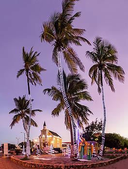 Curacao sunset by Gail Johnson