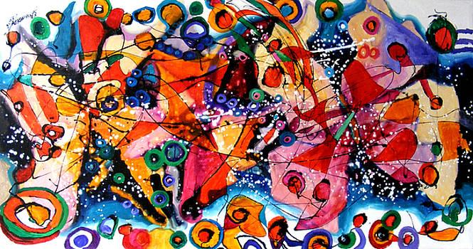 Curcubeul fluturilor by Elena Bissinger