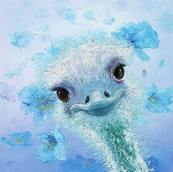 Jan Matson - Curious Ostrich