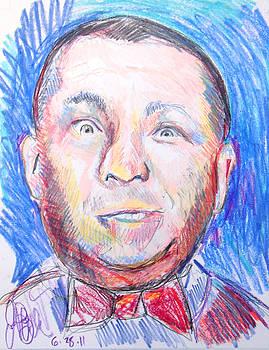 Jon Baldwin  Art - Curly Three Stooges