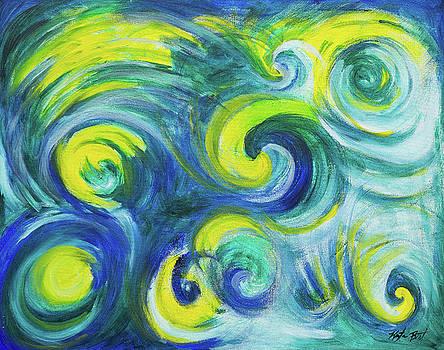 Currents of Blue by Krysta Bernhardt