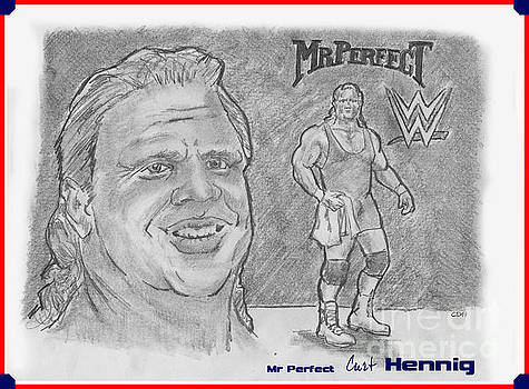 Chris  DelVecchio - Curt Hennig- Mr Perfect
