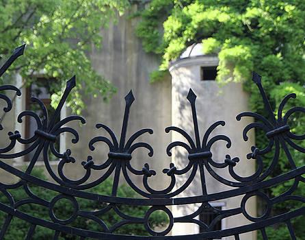 Curved Gate by Vicki Hone Smith
