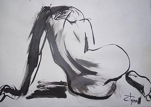 Curves 26 - Female Nude by Carmen Tyrrell
