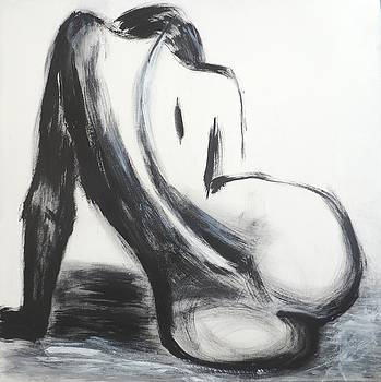 Curves 30 - Female Nude by Carmen Tyrrell