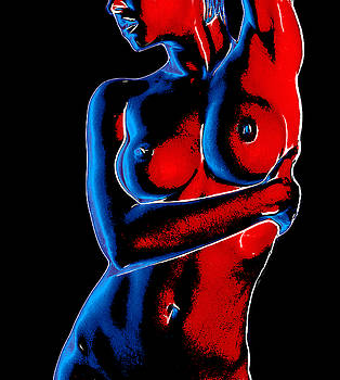 Steve K - Curves in Red and Blue
