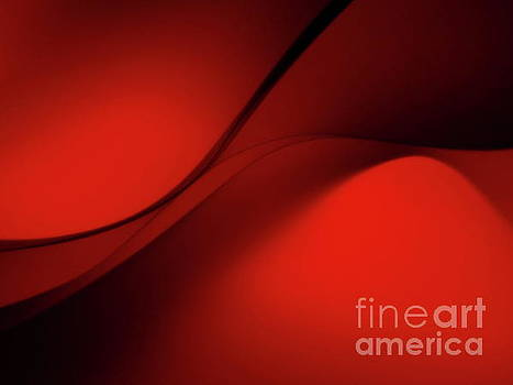 Curves In Red by Trena Mara