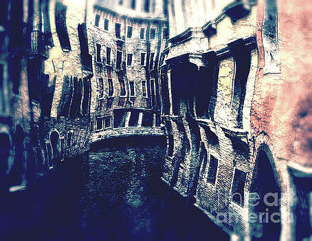 Curving Canals of Venice by Phil Perkins