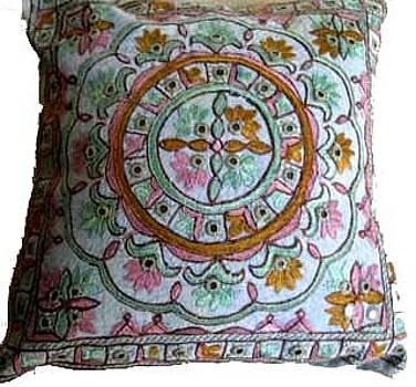 Cushion Cover by Santosh Rathi