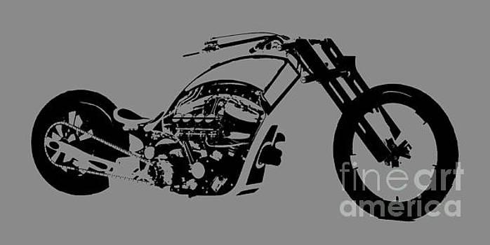 Custom Motorcycle by Mark Moore