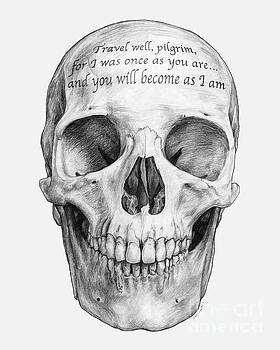 Customized Skull by Adesina Sanchez