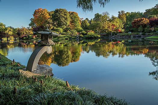 Cut Stone in the Japanese Garden by Allen Ahner
