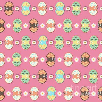 Cute eggs pattern by Gaspar Avila