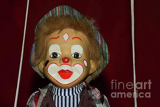 Cute Little Clown by Kaye Menner by Kaye Menner