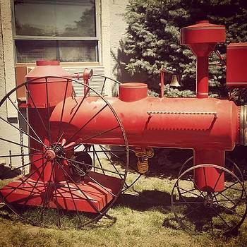 Cutest Little Steam Engine! #traindays by Sarah Marie