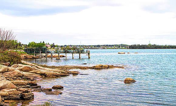 Cutler Pier by Betty Pauwels