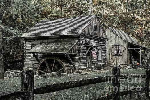 Cuttalossa Farm Mill by David Rucker