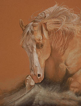 Cutting Horse by Gail Finger