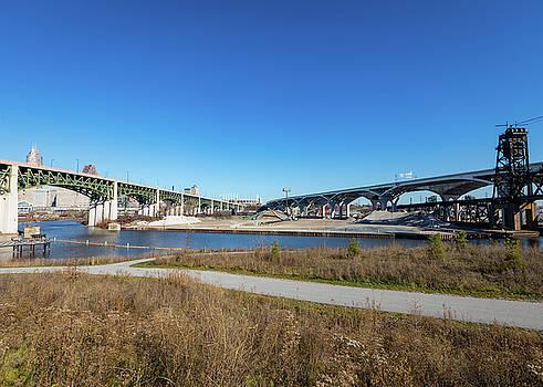 Cuyahoga Bridges  by Tim Fitzwater