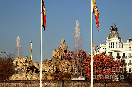 James Brunker - Cybele Fountain Plaza de Cibeles Madrid