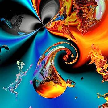 Cyber Teardrop by Vicki Lynn Sodora
