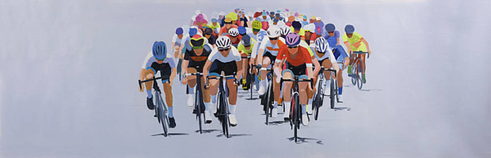 Cycling Competition by Atelier B Art Studio