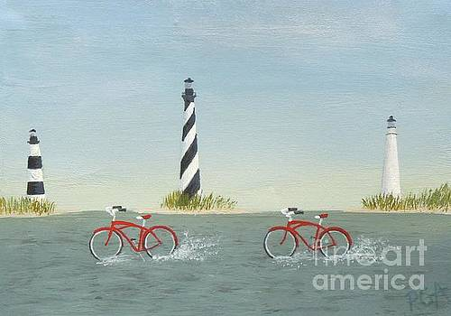 Cycling the Pamlico Sound by Phyllis Andrews