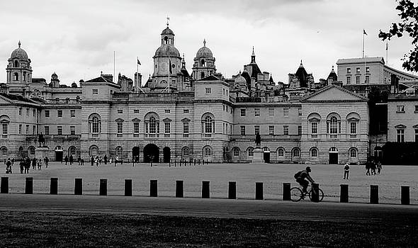 Cyclist in London by Sean Flynn
