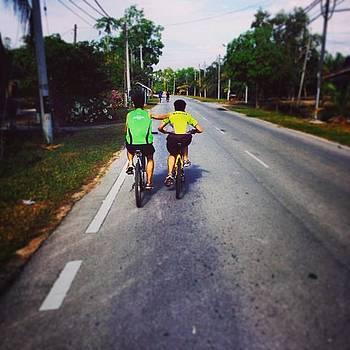 Cyclothon, En Route To Bukit Panchor by Kang Choon Wong