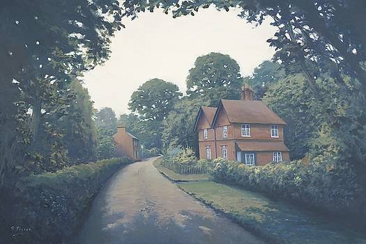 Cypher Cottages, Binfield Heath. by Richard Picton