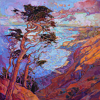 Cypress Clouds by Erin Hanson