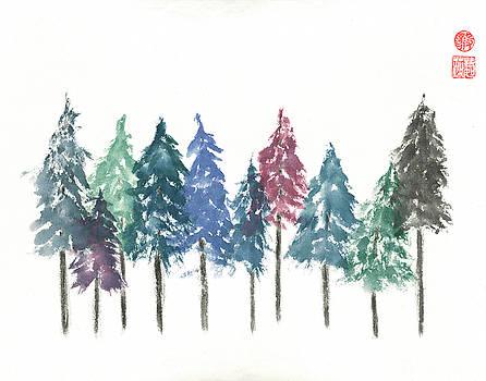 Cypress Trees by Terri Harris