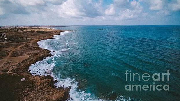 Cyprus Rocky Beach by Owen Hunte