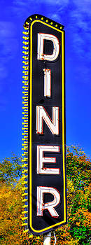 D I N E R  - ' Dis Is Not Elegant Repast, But It Do The Belly Much Nice - Lincoln Highway, Lancaster by Michael Mazaika