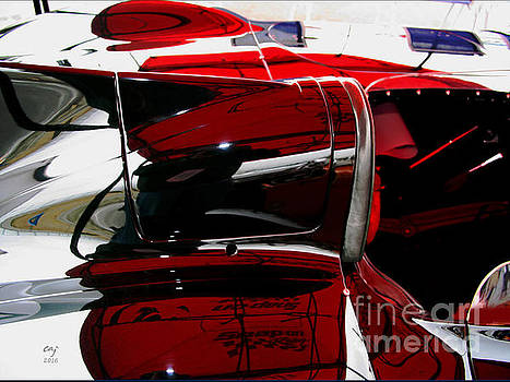 D Type Abstract by Curt Johnson