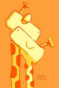 Thomas Olsen - D010 Giraffe Couple